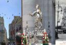 """""""Santa Lucia re quagghie"""" per ricordare il miracolo avvenuto nelmaggio1646quando a Siracusa divampò la carestia """"interrotta"""" dall'arrivo nel porto aretuseo di navi cariche di grano."""