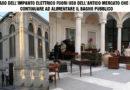 """Salta l'impianto elettrico all'Antico Mercato, annullata """"ORTIGIA ANTIQUARIA"""" e quasi tutte le attività. Ma il bagno pubblico resta funzionante ed allacciato al quadro elettrico dell'antico mercato?"""