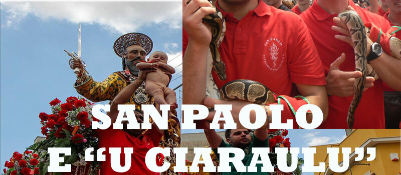 """""""U CIARAULU"""". Un viaggio tra religione, storia, leggenda e credenze popolari ma anche un po' di verità."""