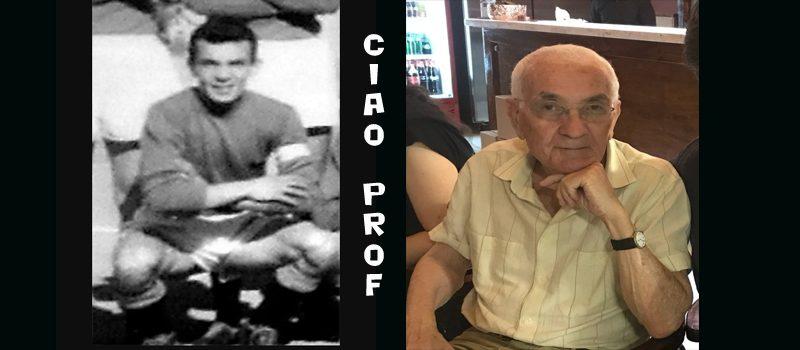 E' venuto a mancare il Professore Salvatore Rubino, stimato insegnate siracusano ma anche calciatore e capitano del Siracusa Calcio degli anni 50-60